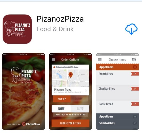 Pizanoz iPhone App